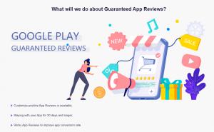 Guaranteed App Reviews